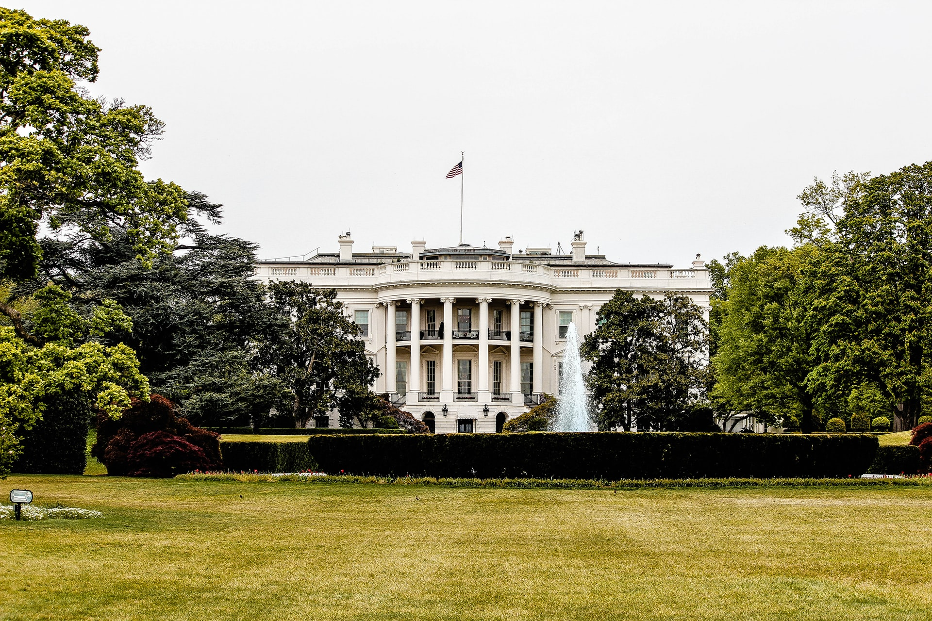The White House in America