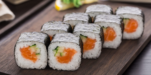 Metal contamination in sushi rice