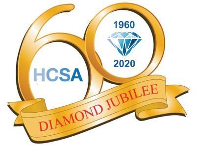HCSA diamond jubilee logo