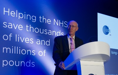 Lord Prior at GS1 UK Healthcare Conference 2019
